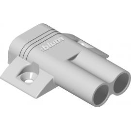 Adapter krzyżakowy, podwójny do blumotion 970.2501 R736
