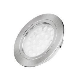 LED oprawa Oval chrom 2W, biały zimny