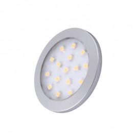 LED OPRAWA ORBIT aluminium 1.5W biała zimna