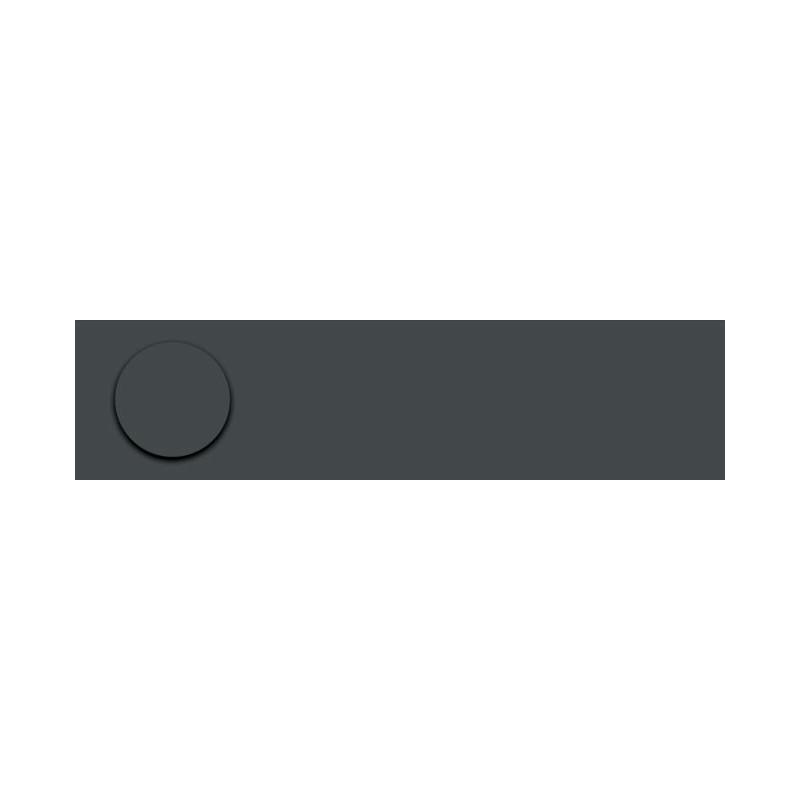 Obrzeże ABS 164 pe antracyt do płyty SWISS KRONO