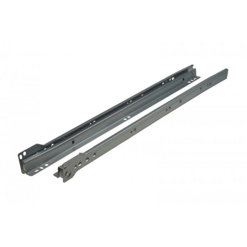 Prowadnica rolkowa GAMET PR-1110 srebrna L-350
