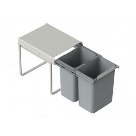 Pojemnik na śmieci 40 JC602 2x20l