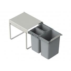 Pojemnik na śmieci 40 JC601 2x9l/1x20l