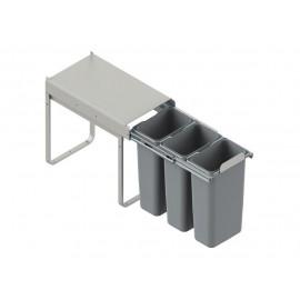 Pojemnik na śmieci 30 JC604 3x9l