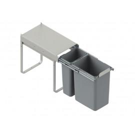 Pojemnik na śmieci 30 JC603 1x9l/1x20l