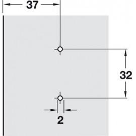 Prowadnik Hafele Duomatic H-0 329.73.500