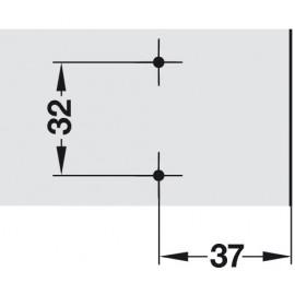 Prowadnik Hafele Duomatic H-9 329.73.608