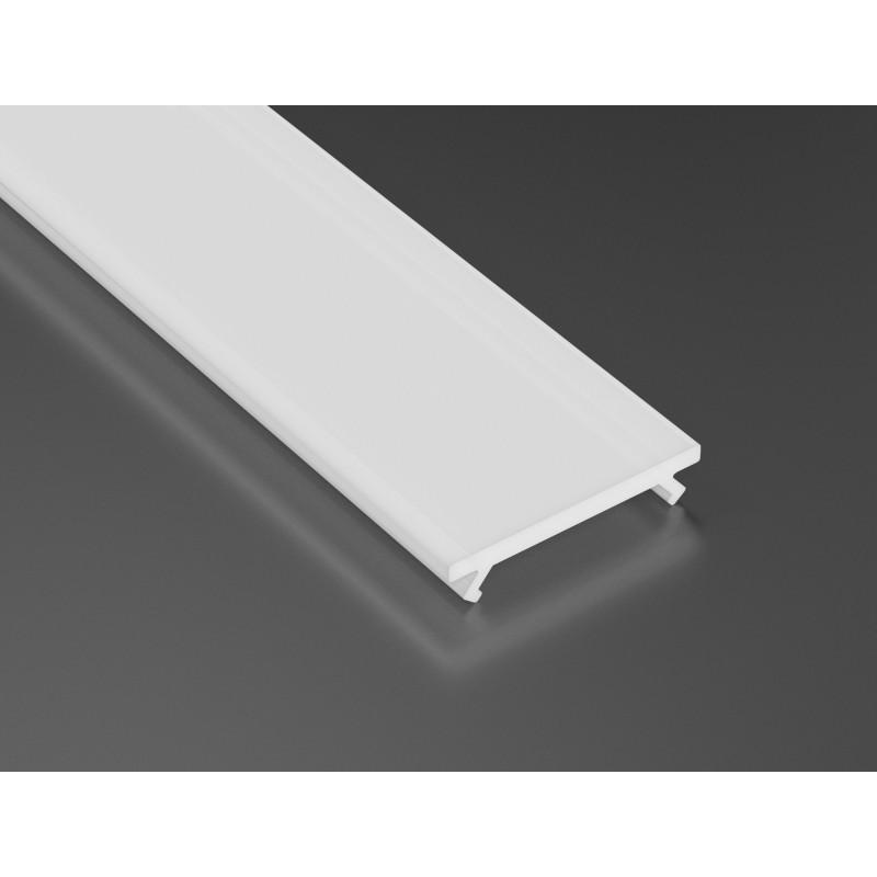 LED LUMINES klosz basic do profilu, mleczny L-L