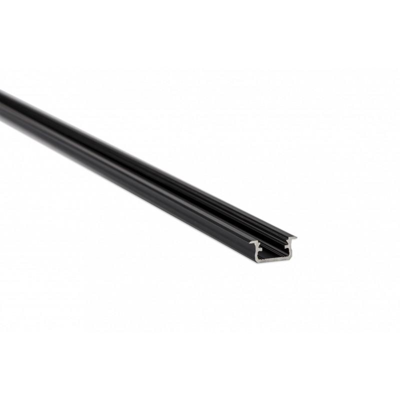LED LUMINES profil aluminiowy typ B, czarny L-L