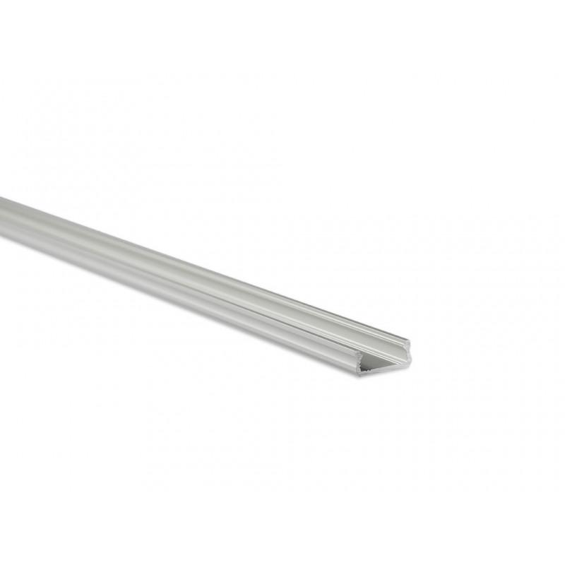 LED LUMINES profil aluminiowy typ D, srebrny L-L