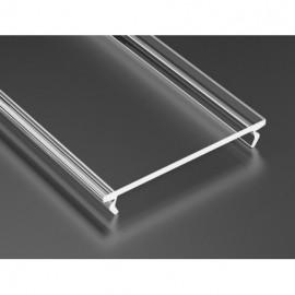 LED LUMINES klosz wide do profilu, 3 mb, transparentny L-L