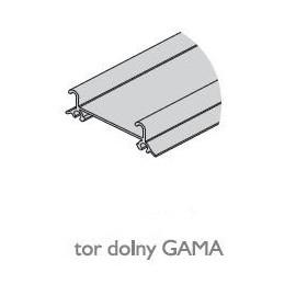 Tor dolny GAMA nr. 82091 biały połysk