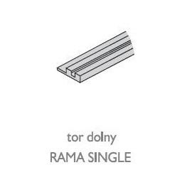 Tor dolny RAMA SINGLE nr. 8750 natura
