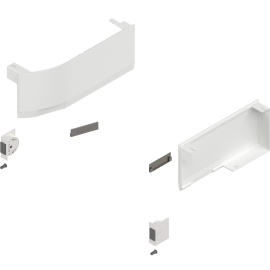 BLUM zaślepki do aventosa HK top z servo-drive 23K8000 białe