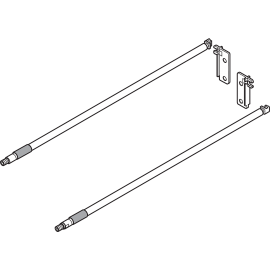 Reling do METABOX ZRE.371S krem 40 cm