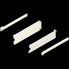 Metabox BLUM 320M5500C15 MX, częściowy wysuw, wysokość H- 86 mm, kremowy