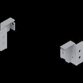 Uchwyt ścianki tylnej lewy/prawy Z30N000S.04 szary