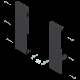 Mocowanie frontu szuflady wewnętrznej tandembox lewe/prawe ZIF.74D0 czarne