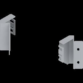 Uchwyt ścianki tylnej tandembox lewy/prawy Z30M000S.45 narożny szary