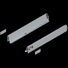 Bok szuflady tandembox wys. N, dl. 550mm, szary 378N5502SA lewy/prawy