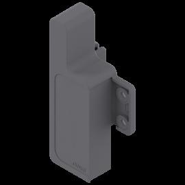 Mocowanie frontu szuflady wewnętrznej METABOX M ZIF.3000 szare lewe