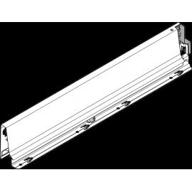Bok szuflady tandembox wys. M, dł. 450mm, szary 378M4502SA lewy
