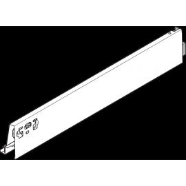 Bok szuflady tandembox wys. M, dł. 450mm, szary 378M4502SA prawy
