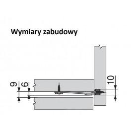 Stabilizacja frontu do szerokich szuflad Z96.10E1