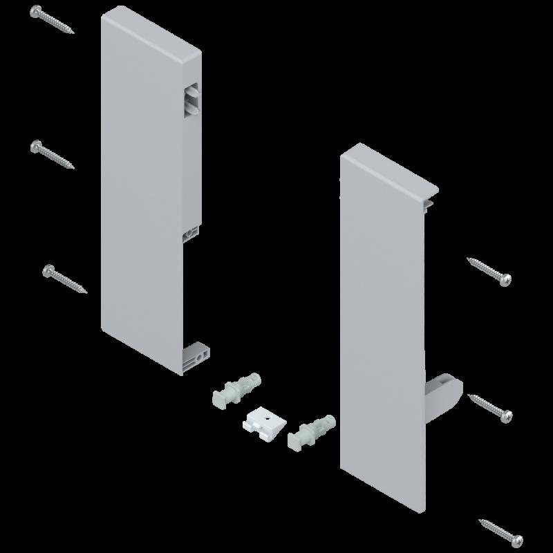 Mocowanie frontu szuflady wewnętrznej tandembox lewe/prawe ZIF.74D0 szare