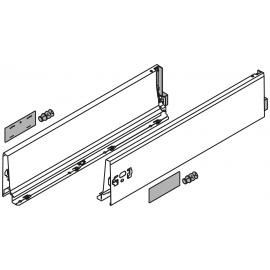 Bok szuflady tandembox wys. K, dł. 500mm, szary 378K5002SA lewy/prawy