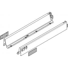 Bok szuflady tandembox wys. N, dł. 450mm, szary 378N4502SA lewy/prawy