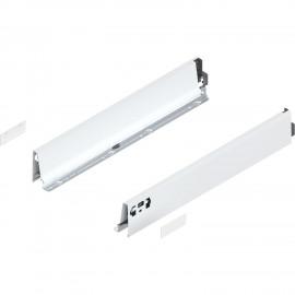 Bok szuflady tandembox wys. M, dł. 600mm, biały 378M6002SA lewy/prawy