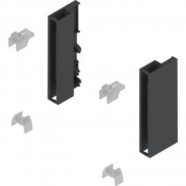 Zestaw uchwytów do elementu dekoracyjnego antaro Z36D0080 czarny