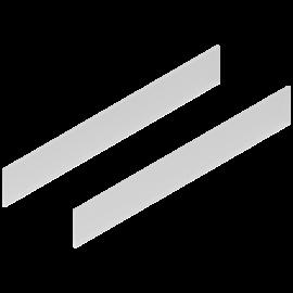 Element dekoracyjny do tandembox antaro, wys. D, dł. 65cm, szkło satynowane Z37R617D (2szt.)