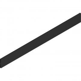 Element dekoracyjny z aluminium do tandembox antaro, wys. D, dł. 50cm, czarny Z37A467D
