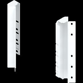 Uchwyt ścianki tylnej tandembox lewy/prawy Z30D000S.45 narożny biały