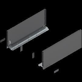 Bok szuflady legrabox wys. C, dł. 450mm, antracyt 770C4502S lewy/prawy