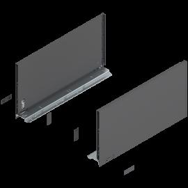 Bok szuflady legrabox wys. F, dł. 450mm, antracyt 770F4502S lewy/prawy