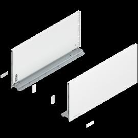 Bok szuflady legrabox wys. F, dł. 450mm, biały 770F4502S lewy/prawy
