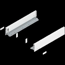 Bok szuflady legrabox wys. M, dł. 450mm, biały 770M4502S lewy/prawy