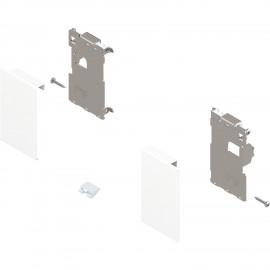 Zestaw mocowań frontu szuflady wewnętrznej legrabox ZI7.0MS0 biały