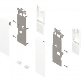Zestaw mocowań frontu szuflady wewnętrznej legrabox ZI7.3CS0 biały
