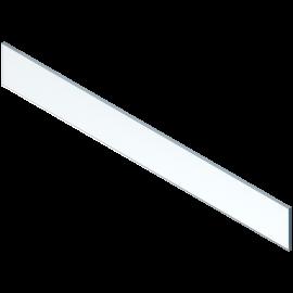 Element dekoracyjny ze szkła (front) do legrabox ZE7W1082G wysoki, przezroczysty