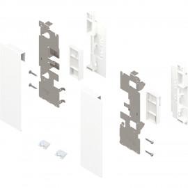 Zestaw mocowań frontu szuflady wewnętrznej legrabox ZI7.2CS0 biały