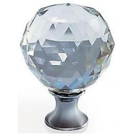 Gałka Gtv GZ CRPA-25-01 chrom+kryształ