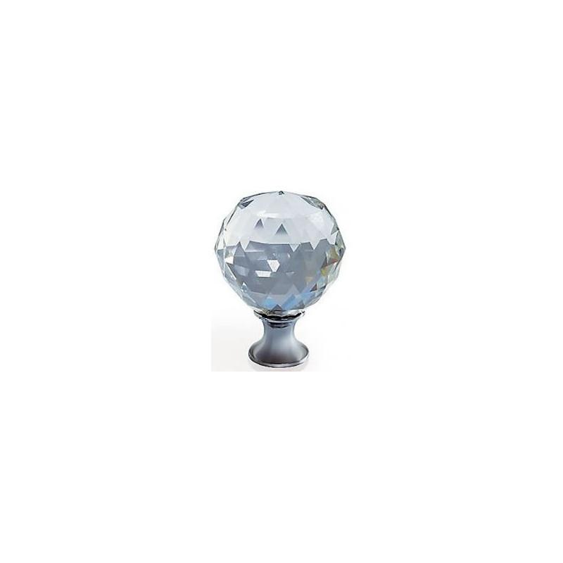 Gałka meblowa Gtv GZ CRPA-25-01 chrom+kryształ
