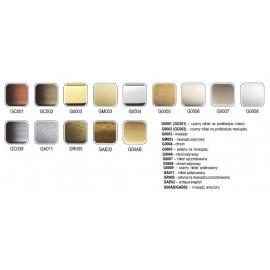 Uchwyt meblowy Gamet UN 90-0096-G0008 aluminium