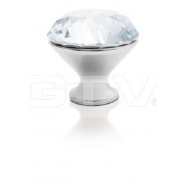 Gałka Gtv GZ CRPB-25-01 chrom+kryształ