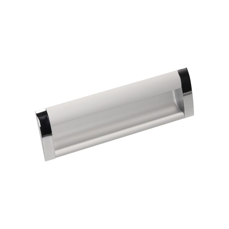 Uchwyt meblowy Gamet UA 08-0128-A0C00-G0004  aluminium + chrom