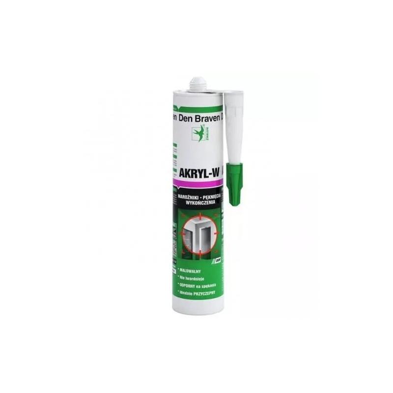 Silikon ACRYLIC-W 310 ml biały  SIAK310B*